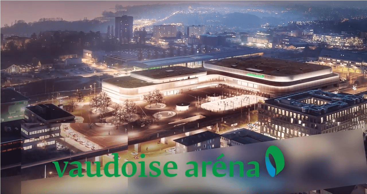 Vidéo en 3D de présentation de la Vaudoise aréna