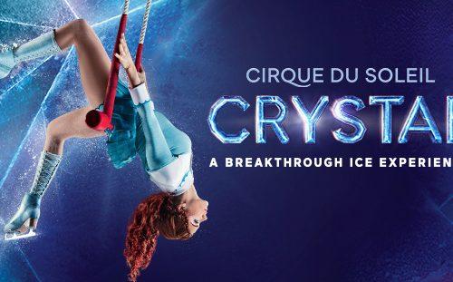CRYSTAL, la première expérience sur glace du Cirque du Soleil – à la Vaudoise aréna de Lausanne, du 9 au 13 septembre 2020.