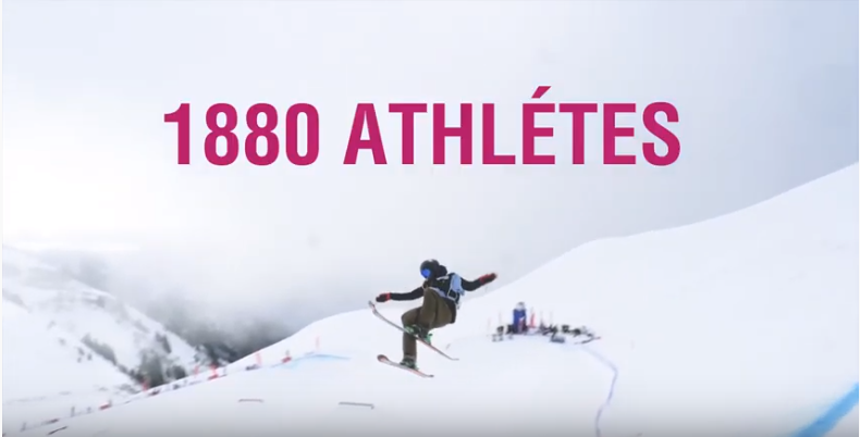 Vidéo promotionnelle des Jeux Olympiques de la Jeunesse 2020 à Lausanne, Vaudoise aréna.