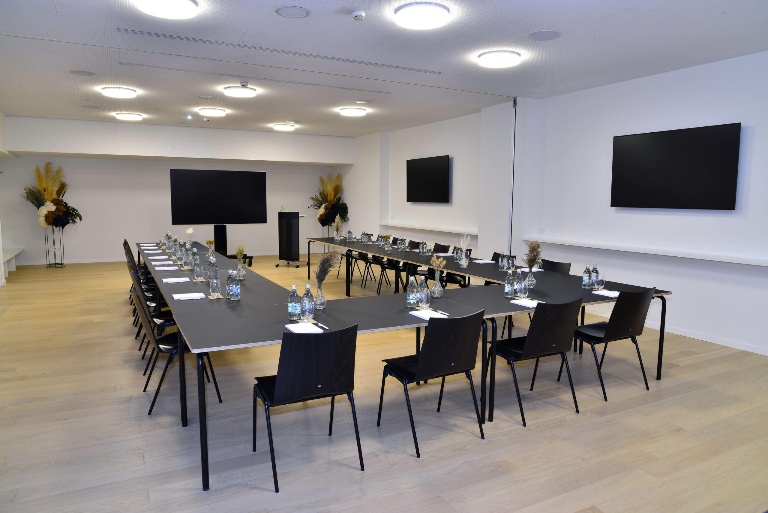 Salle business pour organiser vos séminaires à la Vaudoise aréna.