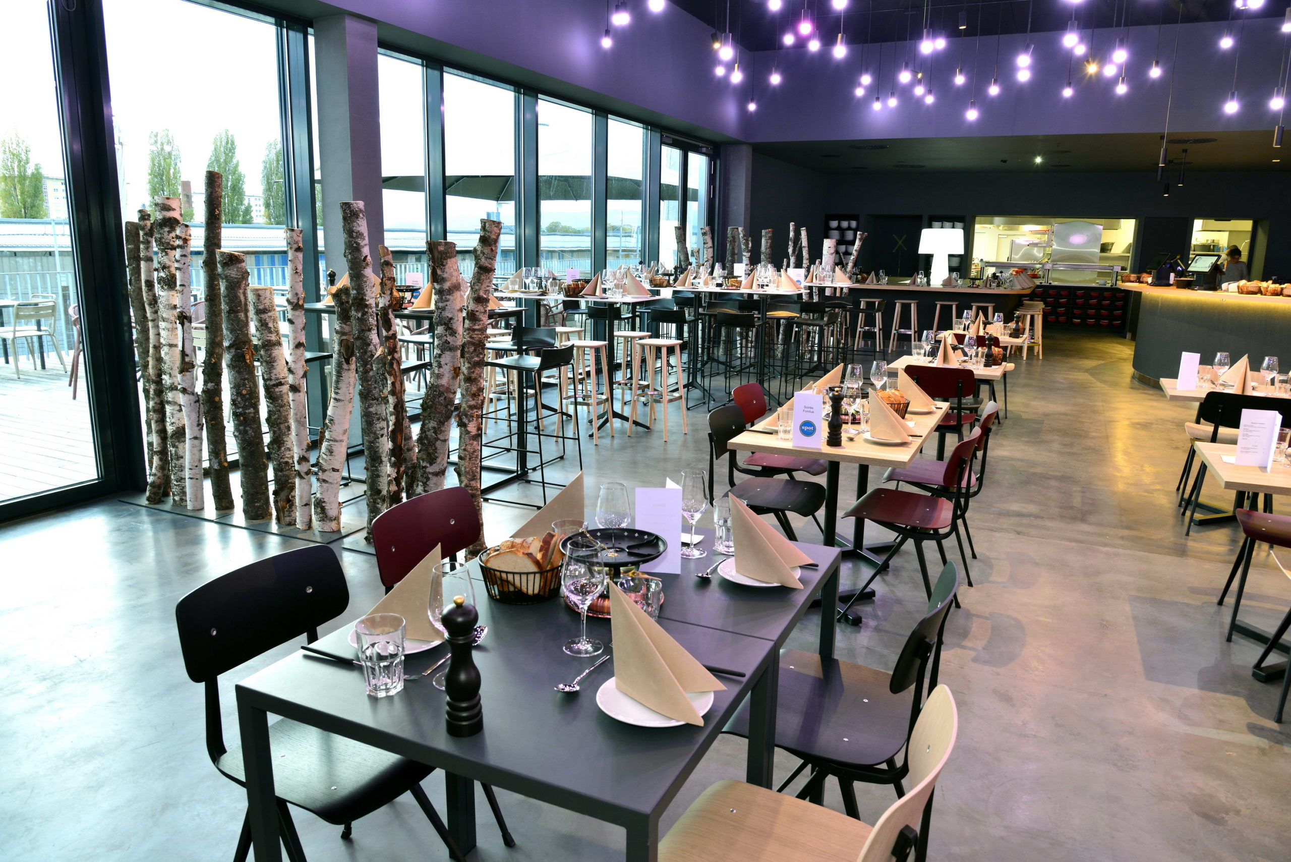 Le Spot café, votre restaurant à la Vaudoise aréna