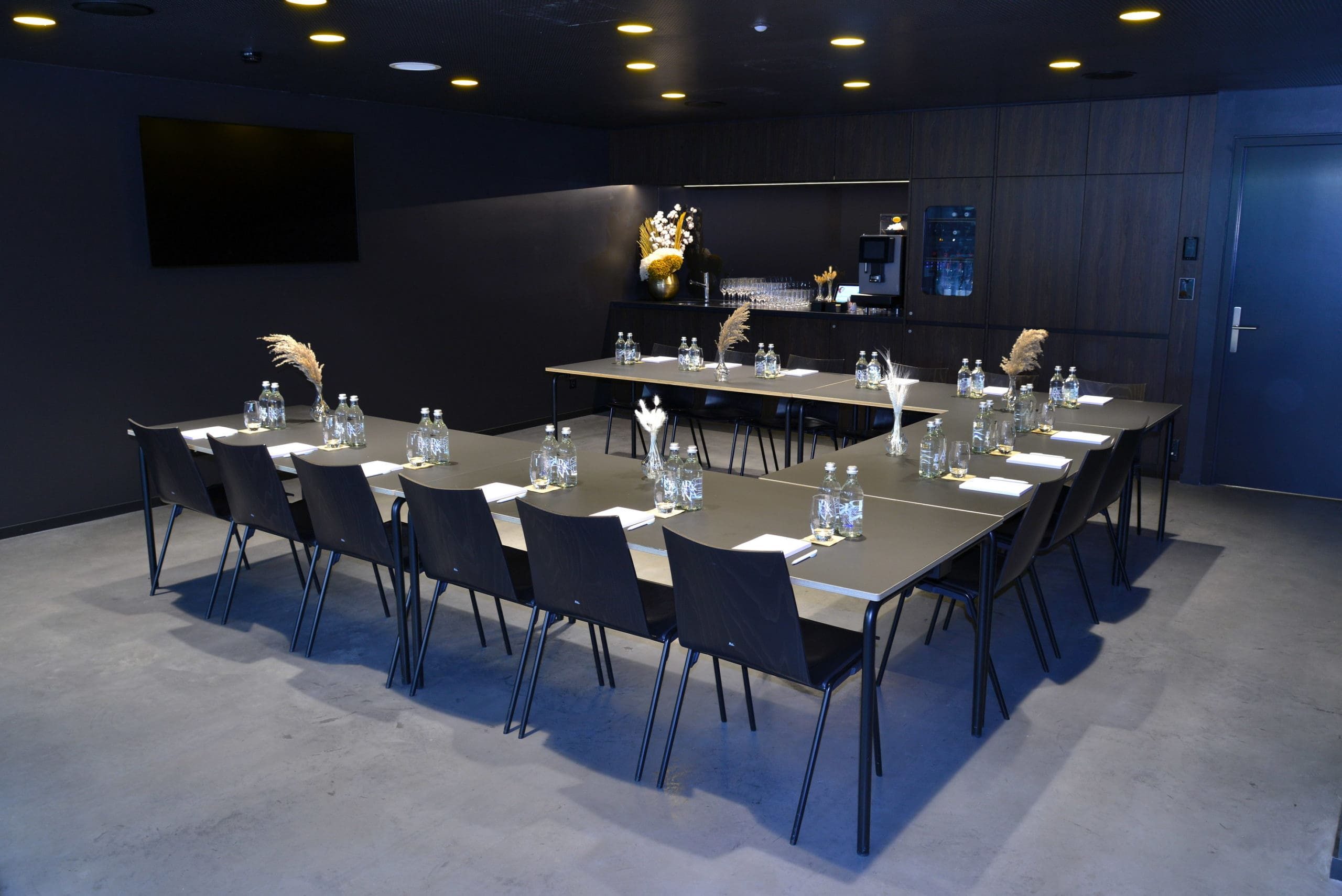 Salle Premium, espace business pour vos séminaires à la Vaudoise aréna