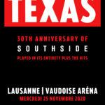 TEXAS - 30ème anniversaire de Southside