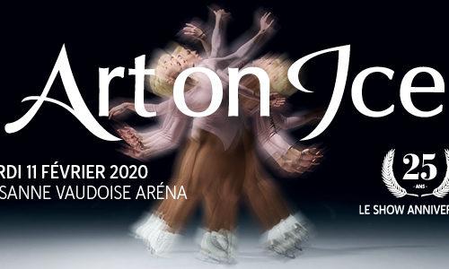 Art on Ice, 25 ans show anniversaire, le 11 février 2020 à la Vaudoise aréna