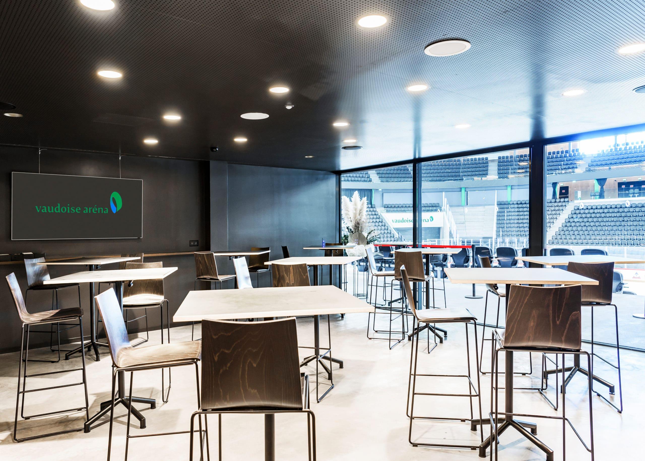 Salle Premium, espace business à la Vaudoise aréna