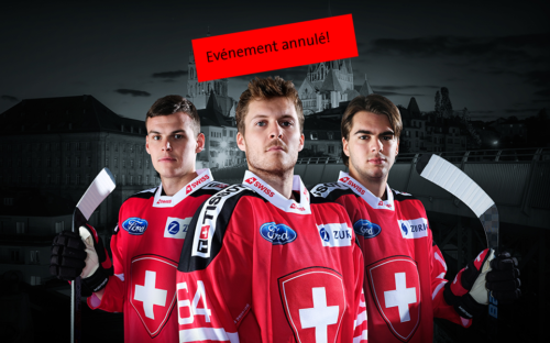 Match amical Suisse-Russie le 8 mai 2020 à la Vaudoise aréna