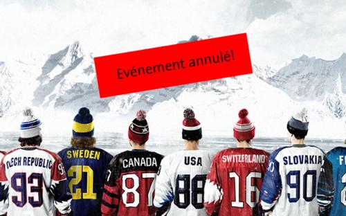 Championnat du Monde de Hockey sur Glace 2020 à la Vaudoise aréna
