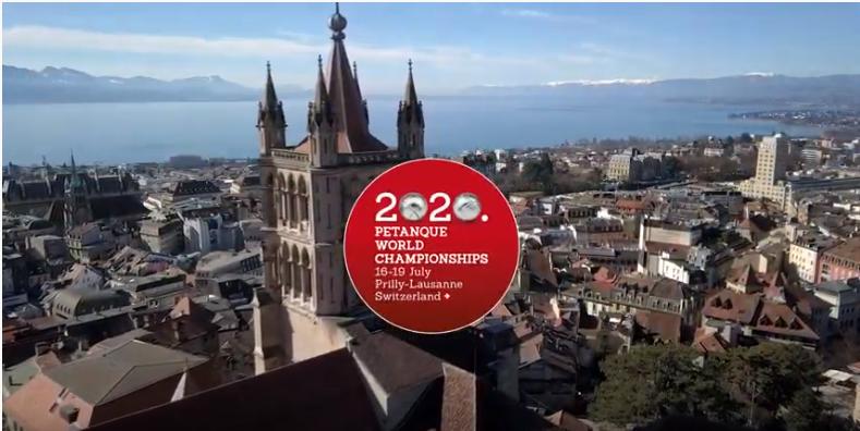 Vidéo promotionnelle des championnats du monde de pétanque à 2020 à la Vaudoise aréna.
