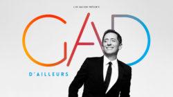 """Photo officielle du prochain spectacle de Gad Elmaleh, """"D'ailleurs"""" à la Vaudoise aréna"""