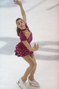 Maelle Ledermann patineuse au CPLM, club de patinage Lausanne Malley