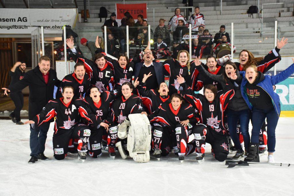 Promotion du LHC féminin en ligue B