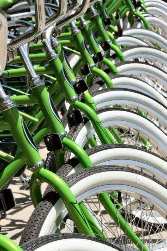 Mobilité douce et vélos à la Vaudoise aréna