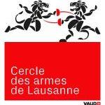 Logo du club d'escrime basé à la Vaudoise aréna, cercle des armes de Lausanne