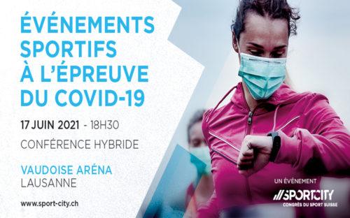 La conférence SportCity, intitulée « Événements sportifs à l'épreuve du Covid-19 », abordera le thème de la gestion de crise dans les événements sportifs le 17 juin à la Vaudoise aréna