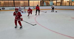 Fête de la glace incitation de hockey à la Vaudoise aréna - 7 novembre 2021